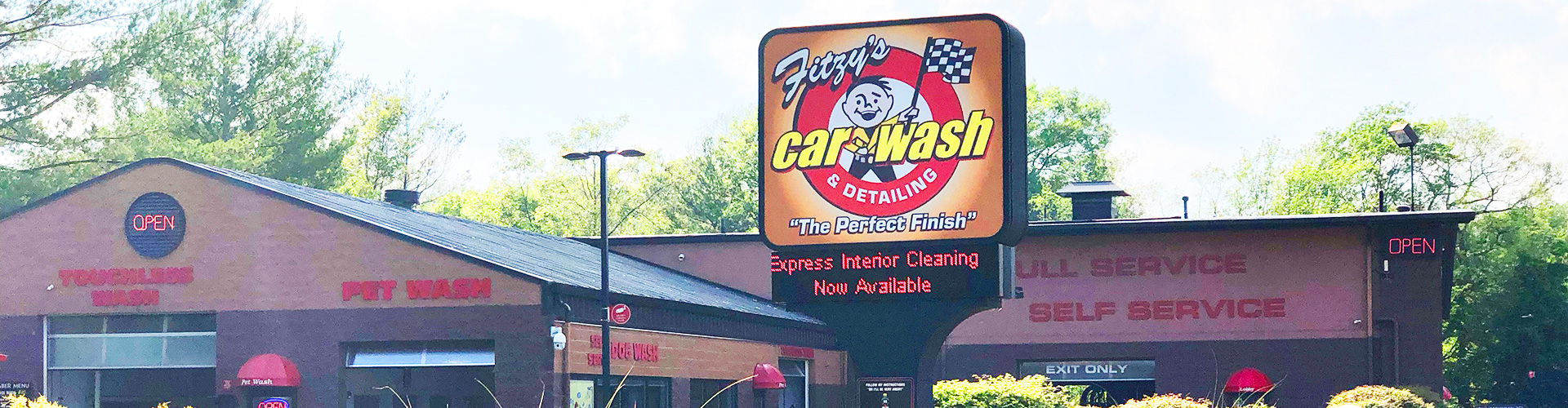 Fitzy S Car Pet Wash Web Site